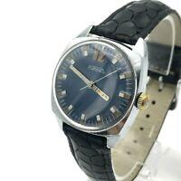 RAKETA Antimagnetic 12 USSR Men's Watch 80s 2610 Rare Mechanical Blue SERVICED