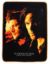 Supernatural Orange Filter Super Soft Coral Fleece Throw Blanket New With Tags!
