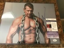 Vince Mcmahon WWE Chairman Signed 11x14 Photo JSA Certified