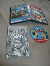 Sims 2: Pets (Sony PlayStation 2, 2006) complete working