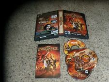 Dungeon Siege II (PC, 2005) Game with Box, manual and key