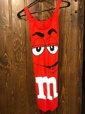NWOT Ladies Halloween Costume - Red M&M Dress - Small