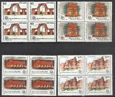 Historical sites of Delhi 1987 Old Fort Red Fort Iron Pillar War memorial BLOCKS