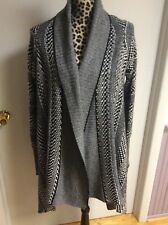 5/48 Open Front Cardigan Size M