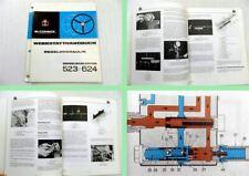 IHC 523 IHC 624 Regelhydraulik Werkstatthandbuch 1967 Reparaturanleitung