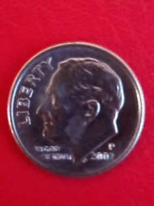 2002 US 1 dime coin. Circulated & Collectable!