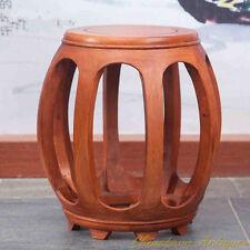 Aged rosewood Guzheng Guqin Seat stool Garden stool Drum Stool Round stool #3014