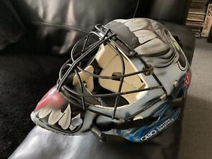 Hockey Goalkeeper Obo Custom Graphic Helmet Iron Maiden