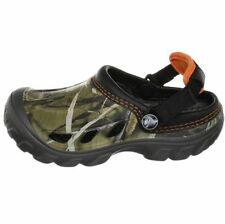 Rubber Upper Shoes for Boys with Hook & Loop Fasteners