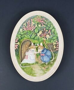 Brambly Hedge SPRING STORY Limited Edition 1993 Bradex Collectible Wall Plaque