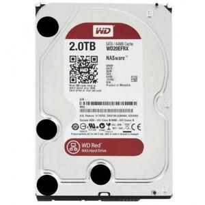 "HDD Disco Duro Interno WD Red NAS 3.0 2TB 3,5"" 7200RPM 256MB SATA3"