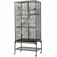 Yaheetech 69-Inch Extra Large Bird Cage for Mid-Sized Parrots Cockatiels Conures