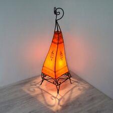 Orientalische Hennalampe Stehleuchte Orient Lampe Marokko Lederlampe LSC_O H63