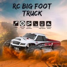 4Wd Racing Car 2.4Ghz Rc Truck Big Foot Truck Rc Crawler Electric Rtr Gift Toys