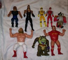 1980's & 1990's Wrestling, Power Rangers, And More Vintage Toys