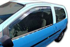 RENAULT TWINGO 3 Portes 2000- 2008 Deflecteurs d'air Déflecteurs de vent 2pcs