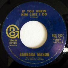 BARBARA MASON 45 If You Knew Him.../Raindrops Keep Fallin'... soul ct2394