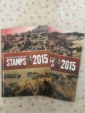 Collection of 2015 Australian Post Year Book Album with Stamps - Deluxe Edition