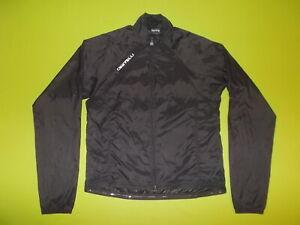 Windcheater Jacket CASTELLI (4XL)(XXXXL) PERFECT !!! CYCLING Black Made in ITALY