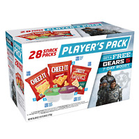 Kellogg's Player's Variety Pack - Gears Cheez-It Crackers and Pringles Chips Sal