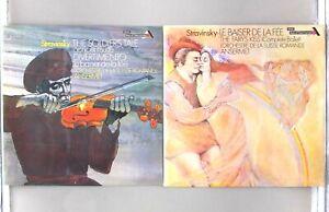 Stravinsky - Soldier's Tale / Le Baiser De La Fee - Ansermet - SDD 244 / 247