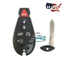 New Uncut Replacement Key Fob Keyless Entry Remote Transmitter for Fobik - 6bt