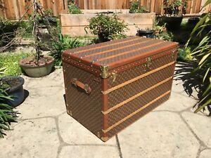 LOUIS VUITTON MALLE 110 HAUTE  Monogram Steamer Trunk chest purse bag LV