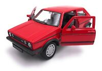 VW Golf l 1 GTI Modellauto Auto LIZENZPRODUKT 1:34-1:39 versch. Farben
