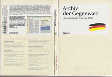 Digitale Bibliothek 78: Archiv der Gegenwart Deutschland 1949-1999 / CD-Rom 2004