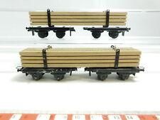 bd738-0, 5 #2x Trix Express H0 / DC Vagón de madera / mercancía, 2º SELECCIÓN