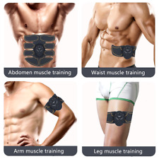 Abs Stimulator Abdomen Toning Belt Ems Toner Fitness Slimming Home Gym Arm Legs