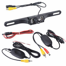 """4.3"""" Car Rearview Monitor 2.4GHz Wireless Backup Reverse Camera Night Vision Kit"""