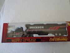 ERTL KENWORTH T600B WITH DROP BOX TRAILER HO 1/87 SCALE  AMERICAN CLASSIC SERIES