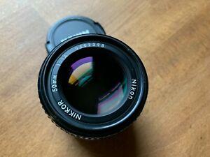 Nikon Nikkor 50mm f1.4 AIS Lens - Excellent Condition