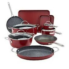 Curtis Stone 14 piece All Purpose Cookware Red - FREE SHIPPING