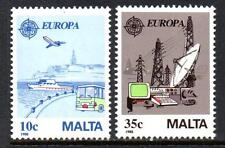 MALTA MNH 1988 SG827-828 EUROPA: TRANSPORT & COMMUNICATIONS SET OF 2