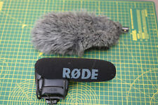 Rode Video Mic Pro with Deadcat cover