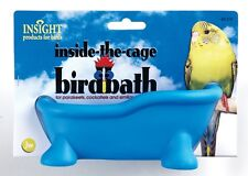 JW Pet Insight Inside the Cage Bird Bath  Free shipping