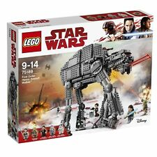 NEW LEGO STAR WARS THE LAST JEDI FIRST ORDER HEAVY ASSAULT WALKER 75189 AT-AT