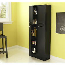 Black Tall Cabinets For Sale | EBay