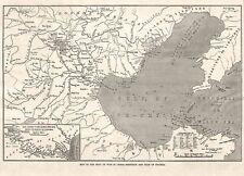 China Second Opium War Map of NE China Pe Chill Hai River Inset Yellow Sea 1860