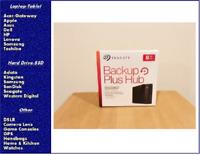 Seagate Backup Plus Hub 8TB External USB 3.0 Desktop Hard Drive STEL8000100, NEW