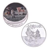 WR US 2019 50ème Anniversaire APOLLO 11 Moon Landing Silver commémoratif Coins