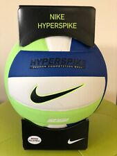VOLLEYBALL-NIKE HYPERSPIKE-SIZE 5-INDOOR COMPETITION-NFHS-WHITE/BLUE-NEW-IN BOX-