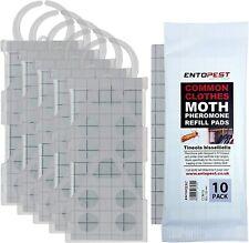 More details for entopest 5 x common clothes moth traps & 10 pheromone pad kit protect clothes