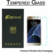 Samsung Galaxy S7 Edge HIGH QUALITY HARD TEMPERED GLASS BUBBLE FREE