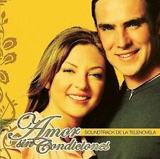 NUEVO! Amor Sin Condiciones - Soundtrack De La Telenovela (CD, WEA Latina)