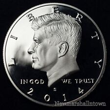 2014 S Kennedy Half Dollar ~ Mint Clad Proof U.S. Coin from Original Proof Set