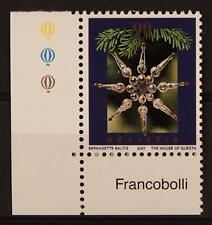 SWITZERLAND - SVIZZERA - 2001 - Natale. Decorazioni.