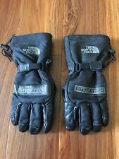 North Face TNF Steep Tech Winter Canvas Leather Gloves Size Medium